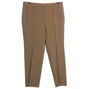 J.Crew NWT Front Pleated Tan Trousers
